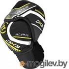 Налокотники хоккейные Warrior Alpha DX3 SR Elbow Pads / DX3EPSR9-XS (черный)