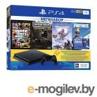 Sony PlayStation 4 1Tb CUH-2208B + DG + GTA V + HZD CE + FT + PS 3 месяца PS719343400