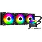Комплект водяного охлаждения PCCooler GI-CX360 ARGB LGA2066/2011/1366/115х/775/TR4/AM4/FM1/2/2+/AM2/2+/3/3+ (6шт/кор, TDP 350W, 3 pin 5V Addressable RGB подсветка, 3х120mm PWM VortexPro FAN) RET