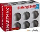 Конструктор магнитный Bondibon Дополнительный набор: 6 шаров / ВВ0874