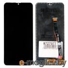дисплей в сборе с тачскрином и передней панелью для Samsung Galaxy M20 SM-M205 черный оригинал