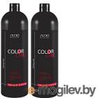 Набор косметики для волос Kapous Для окрашенных волос шампунь 1л+бальзам 1л