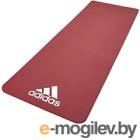 Коврик для йоги и фитнеса Adidas ADMT-11014RD (красный)