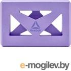 Блок для йоги Reebok RAYG-10035PL (фиолетовый)