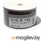 Диск DVD+R CMC 4.7 Gb, 16x, Bulk (50), Full Ink Print (50/600)