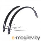 Крылья для велосипеда BBB Cityguard Front & Rear 24 / BFD-40 (черный)