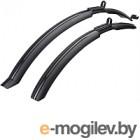 Крылья для велосипеда BBB RainProtectors Front & Rear 26/28 / BFD-25 (черный)