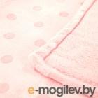 Плед детский ОТК Горох 100х140 / MV31364/3RO (розовый)