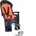 Детское велокресло Hamax 2019 Siesta With Lockable Bracket / HAM552502 (серый/оранжевый)