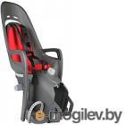 Детское велокресло Hamax 2019 Zenith Relax With Carrier Adapter / HAM553062 (серый/красный)