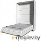 Шкаф-кровать Интерлиния Innova V140 (бетон/белый)