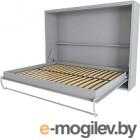 Шкаф-кровать Макс Стайл Wave 18мм 160x200 (серый пыльный U732 ST9)