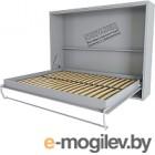 Шкаф-кровать Макс Стайл Wave 36мм 90x200 (серый пыльный U732 ST9)