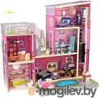 Кукольный домик Kid Kraft Дом мечты Барби с мебелью и бассейном / 65833-KE