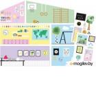 Аксессуар для кукольного домика Lundby Обои для школы / LB-60501500