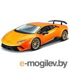 Масштабная модель автомобиля Bburago Ламборгини Хурикан / 18-21092 (оранжевый металлик)