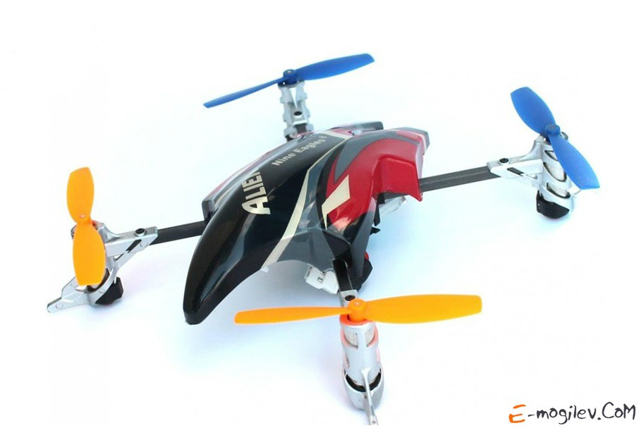 Квадрокоптеры для начинающих. Радиоуправляемый квадрокоптер Nine Eagles AlienX.