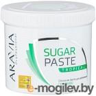 Паста для шугаринга Aravia Professional тропическая сахарная (750г)