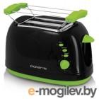 Тостер Polaris PET 0702LB черно-зеленый