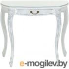 Консольный столик Оримэкс Лацио-ОВ (беленый дуб с серебряной патиной/резьба)