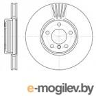Тормозной диск Remsa 660010