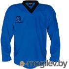 Майка хоккейная Warrior Logo / PJLOGO-BL-L (синий)