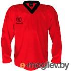Майка хоккейная Warrior Logo / PJLOGO-RD-S (красный)