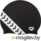 Шапочка для плавания ARENA Team Stripe Сap / 001463501 (черный)