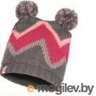 Шапка Buff Child Knitted&Polar Hat Arild Grey (117840.937.10.00)