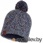 Шапка Buff Knitted&Polar Hat Margo Blue (113513.707.10.00)