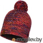 Шапка Buff Knitted&Polar Hat Margo Maroon (113513.632.10.00)