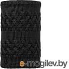 Шарф-снуд Buff Knitted&Polar Neckwarmer Savva Black (113349.999.10.00)