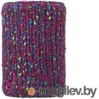Шарф-снуд Buff Knitted&Polar Neckwarmer Yssik Amaranth Purple (113335.629.10.00)
