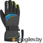 Перчатки горнолыжные Reusch Primus R-Tex® XT / 4801224 623 (р-р 9.5, Black Melange/Yellow/Blue)