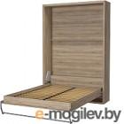 Шкаф-кровать Макс Стайл Kart 36мм 160x200 (дуб бардолино натуральный Н1145 ST10)