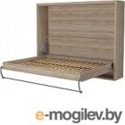 Шкаф-кровать Макс Стайл Wave 36мм 140x200 (дуб бардолино натуральный Н1145 ST10)