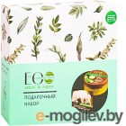Набор косметики для тела Ecological Organic Laboratorie Питание для кожи крем 200мл+мыло 130г