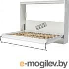 Шкаф-кровать Макс Стайл Strada 18мм 90x200 (светло-серый U708 ST9)