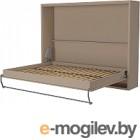 Шкаф-кровать Макс Стайл Wave 18мм 140x200 (бежевый U200 ST9)