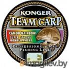 Леска монофильная Konger Team Carp Rainbow 0.25мм 1000м / 235001025