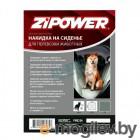 Накидка на сиденья д/перевозки животных,черная ZIPOWER PM 6265