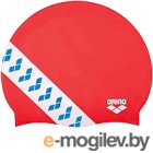 Шапочка для плавания ARENA Team Stripe Cap / 001463477 (красный)