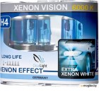 Галогенная лампа Clear Light XenonVision H4 60/55W 12V 2шт