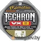 Леска плетеная KAMATSU Techron VX8 0.16мм 100м / 256100016