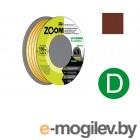 Уплотнитель D коричневый 100м ZOOM CLASSIC