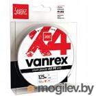 Леска плетеная Lucky John Vanrex x4 Braid Fluo Orange 125/008 / LJ4113-008