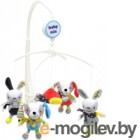 Мобиль на кроватку Baby Mix TK/474М (зайки и собачки)