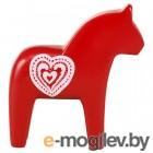 ФИНАНСИЭЛЛ, Украшение, лошадь, красный, сердце, 13 см 704.284.14