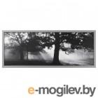 БЬЁРКСТА, Картина с рамой, Лесная поляна II, цвет алюминия, 140x56 см 092.072.56