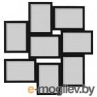 ВЭКСБУ, Рама для коллажа на 8 фото, черный, 13x18 см 904.288.61